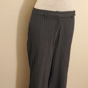 Mossimo pin striped black pant sz 14